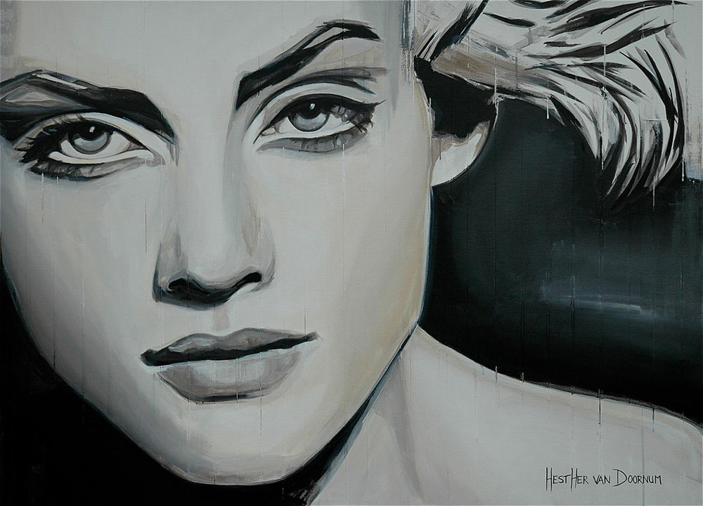 Красивая живопись Эстер ван Доомум 10