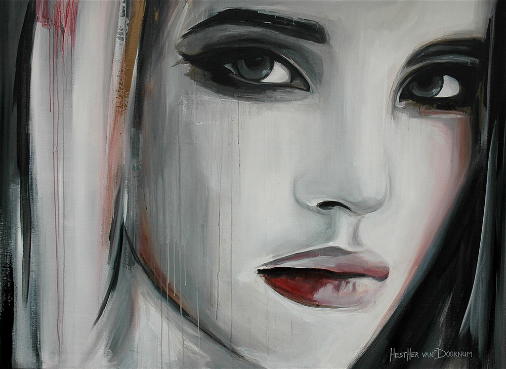 Красивая живопись Эстер ван Доомум 11