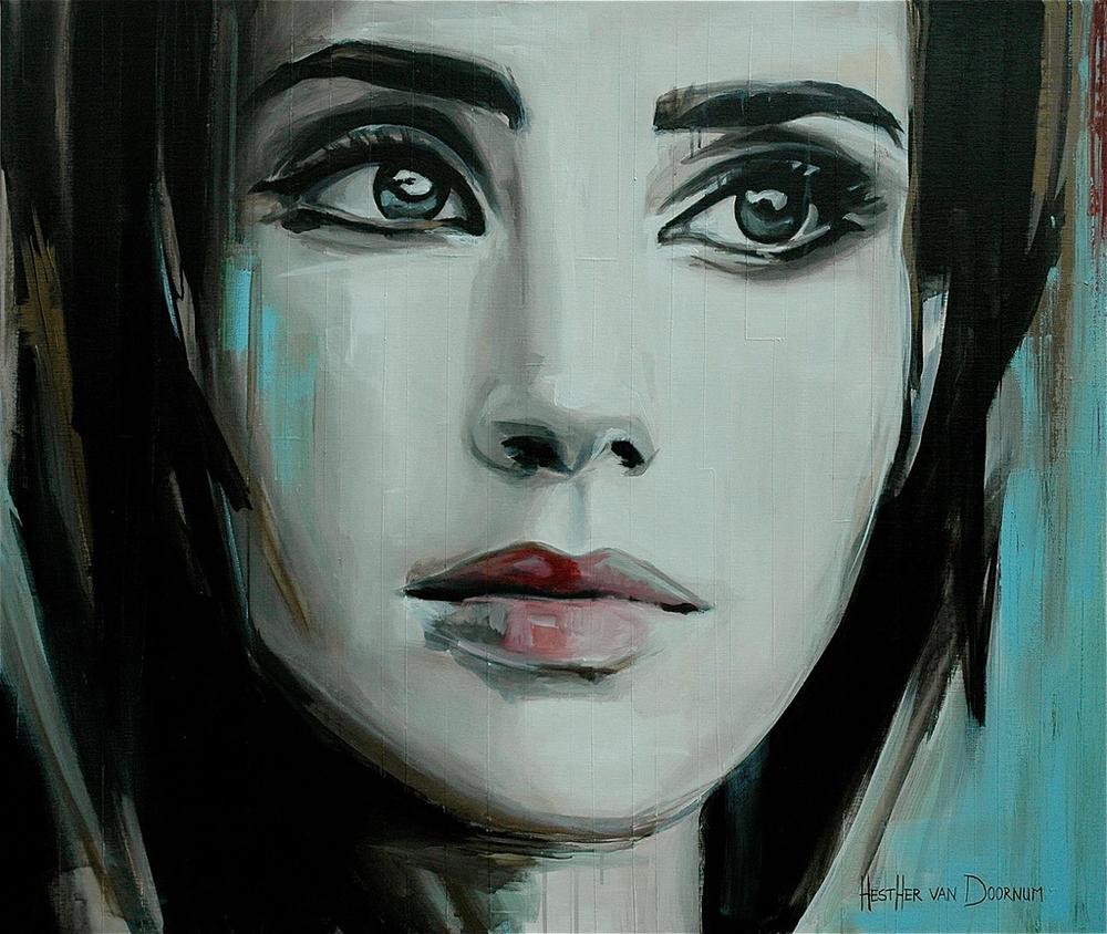 Красивая живопись Эстер ван Доомум 16