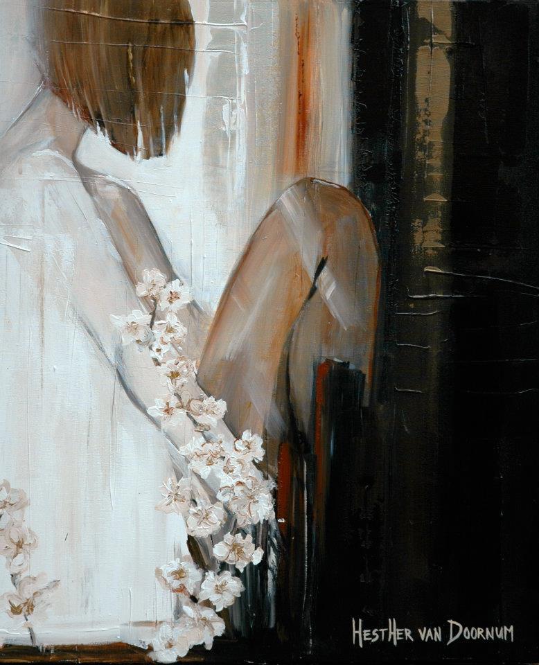 Красивая живопись Эстер ван Доомум 3