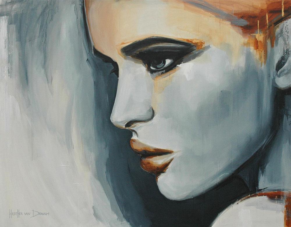 Красивая живопись Эстер ван Доомум 8