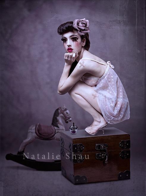 Мир мистики в работах Натали Шау 30