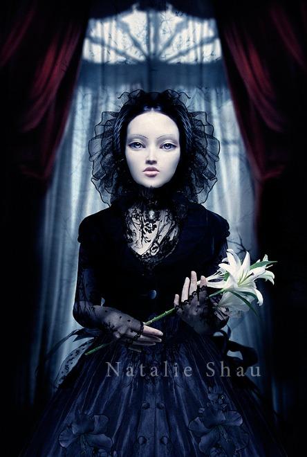 Мир мистики в работах Натали Шау 34