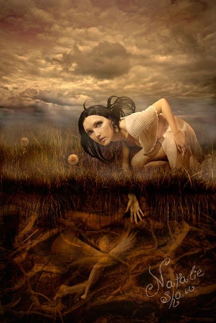 Мир мистики в работах Натали Шау 6