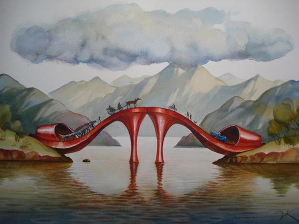 Модный мост