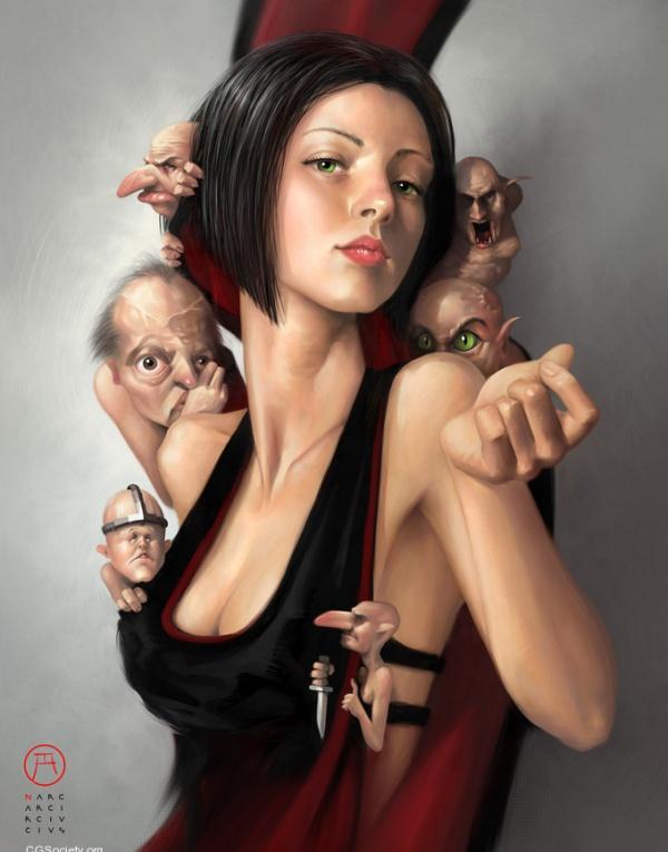 Ошеломляющее цифровое искусство Коррадо Ванелли 11