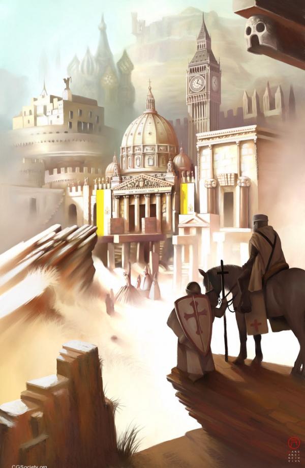 Ошеломляющее цифровое искусство Коррадо Ванелли 6