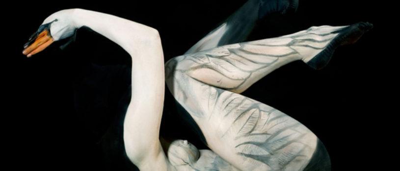 Ошеломляющие боди-арт иллюзии от Гезине Марведель
