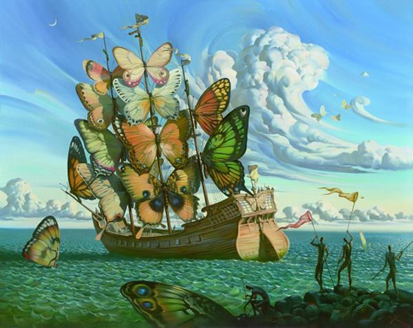 Отплытие крылатого корабля