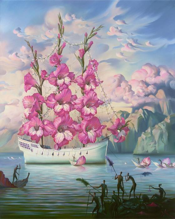 Прибытие цветочного корабля