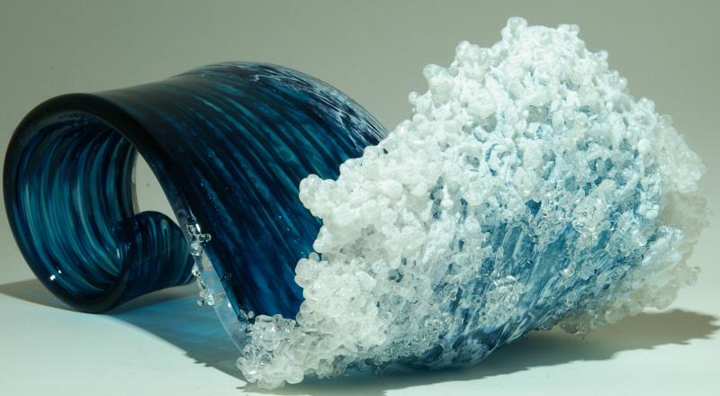 Гиперреалистичные вазы в стиле океанской волны 15