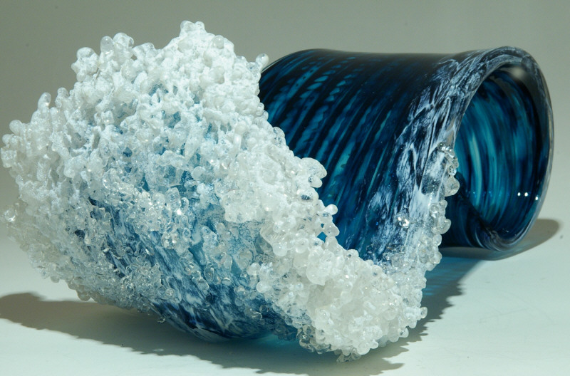 Гиперреалистичные вазы в стиле океанской волны 16