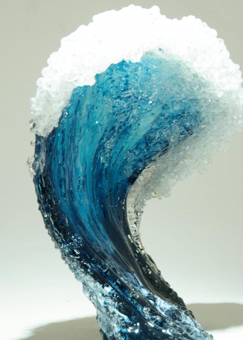 Гиперреалистичные вазы в стиле океанской волны 3