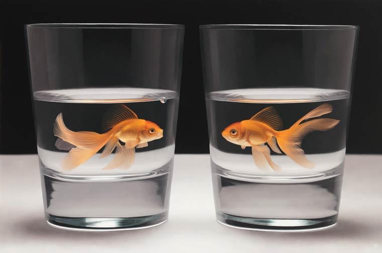 Гиперреализм на картинах Патрика Крамера 2