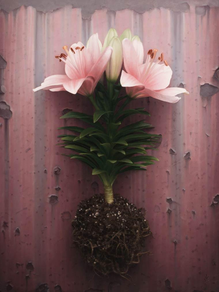 Гиперреализм на картинах Патрика Крамера 9