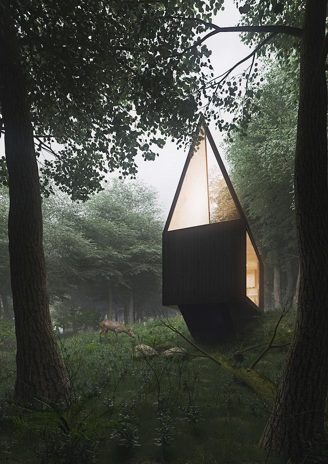Хижина в лесу 3