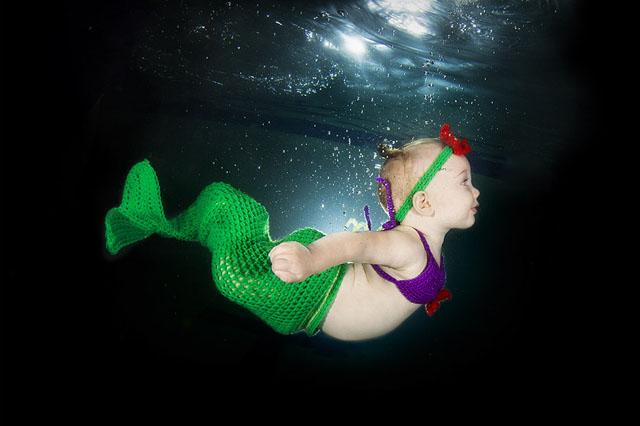 Подводные портреты младенцев  2