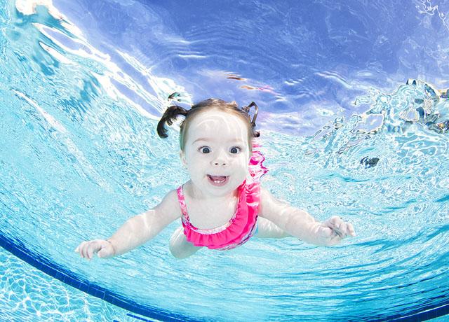 Подводные портреты младенцев  6