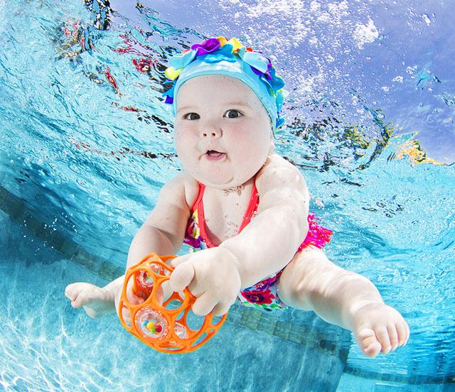 Подводные портреты младенцев  9