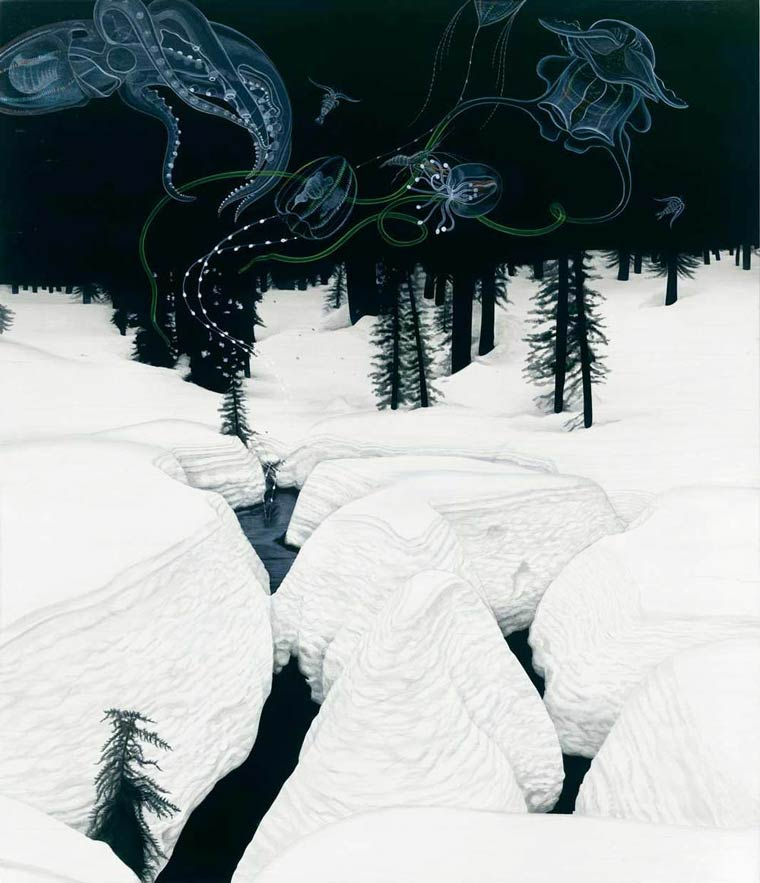 Сюрреалистические картины Tiffany Bozic 1