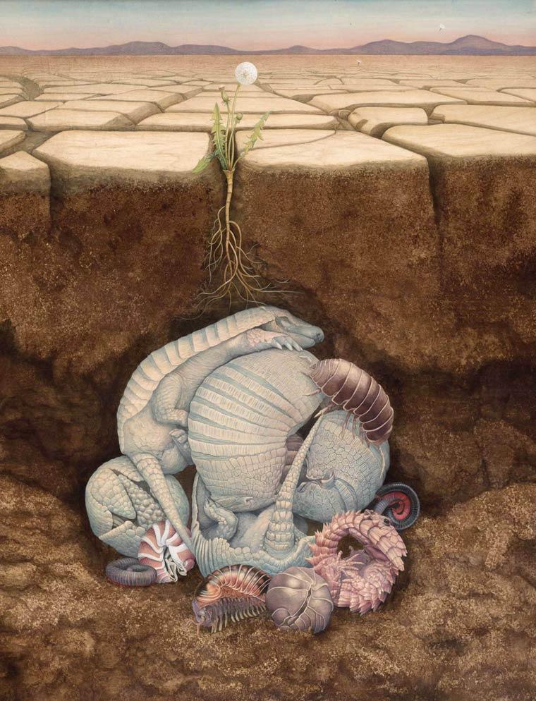 Сюрреалистические картины Tiffany Bozic 10