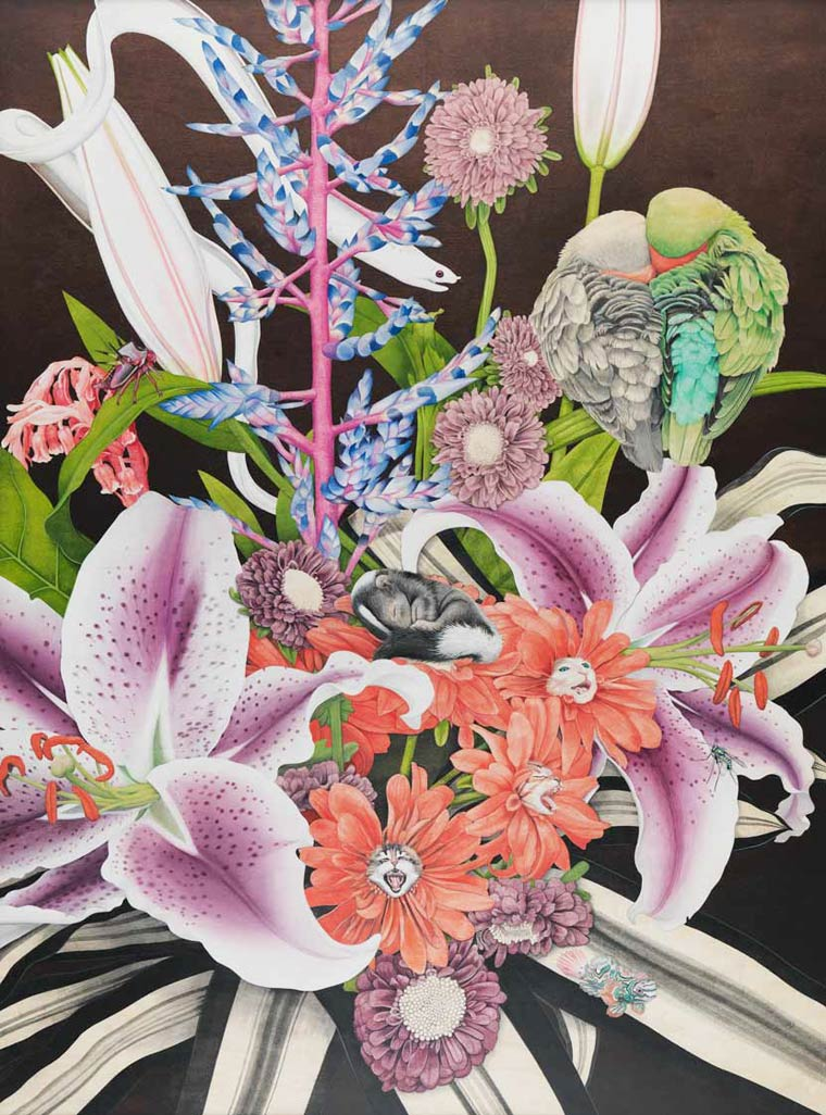 Сюрреалистические картины Tiffany Bozic 11