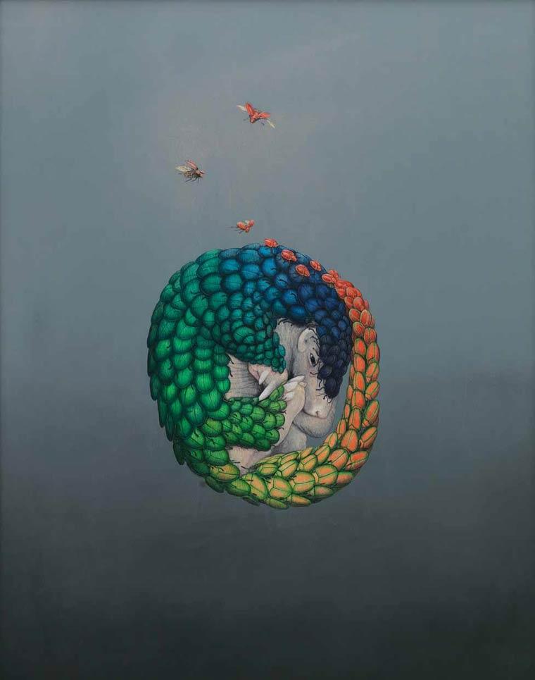 Сюрреалистические картины Tiffany Bozic 12