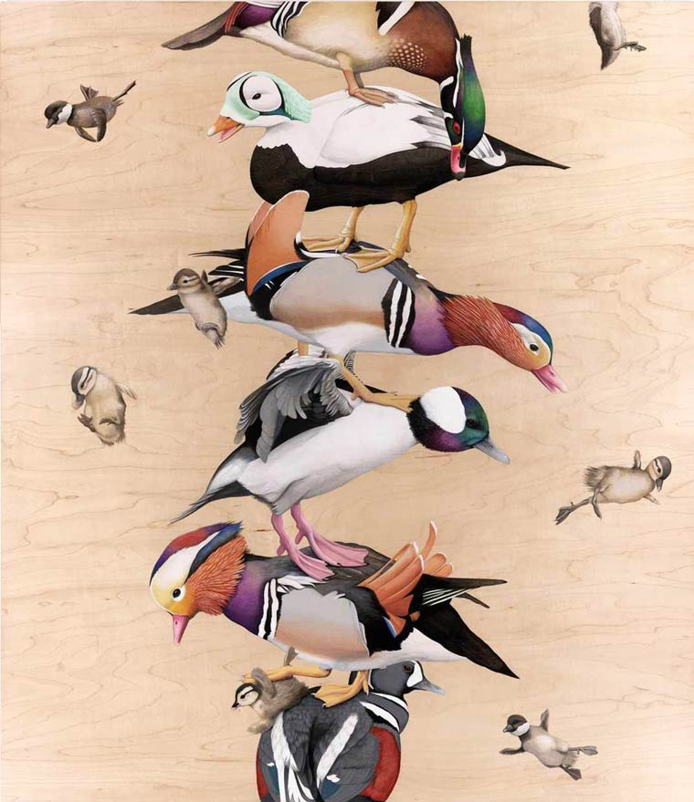 Сюрреалистические картины Tiffany Bozic 13
