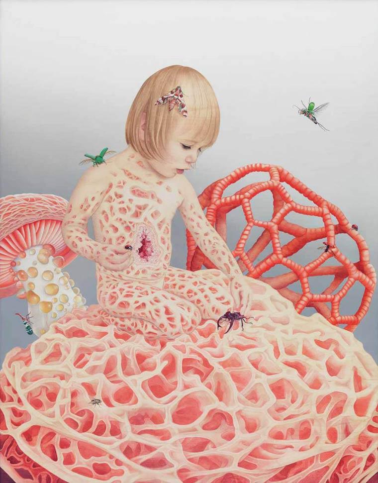 Сюрреалистические картины Tiffany Bozic 2
