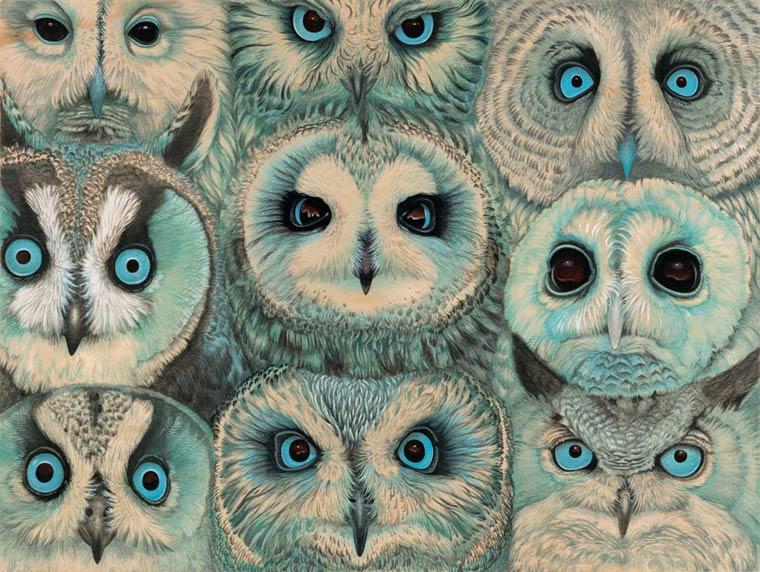 Сюрреалистические картины Tiffany Bozic 8