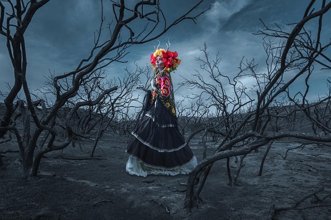 Сюрреалистический фотопроект Las Muertas 7