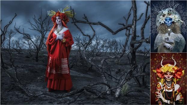 Сюрреалистический фотопроект Las Muertas