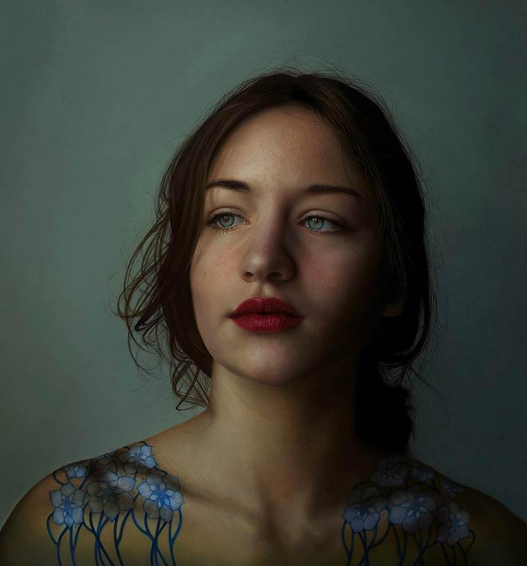 Ультрареалистичные портреты Marco Grassi16