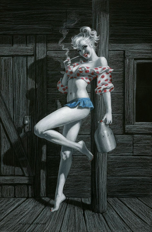 Классика американского пин-ап в работах Грега Хильдебрандта 4