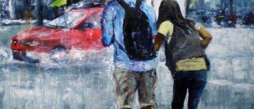 Динамичная живопись Grech Santos