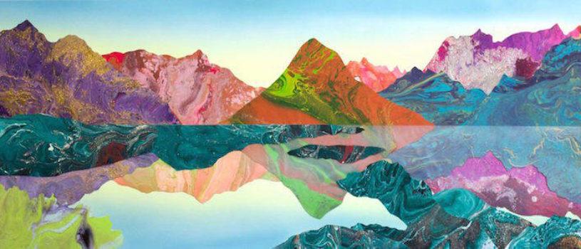 Психоделические ландшафты окружающего нас мира