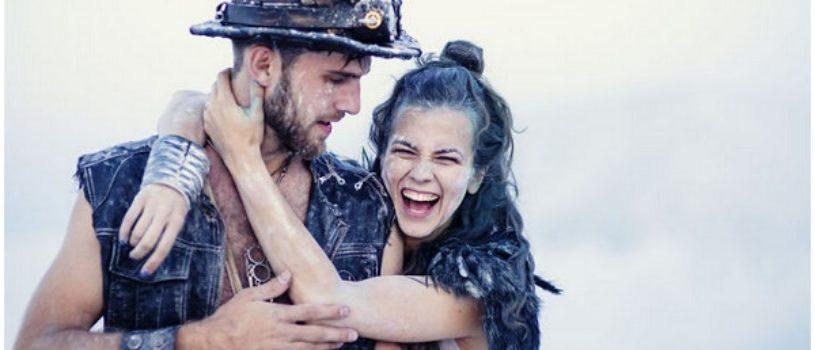 Эпическая история любви, или свадебный фотосет на свалке химических отходов