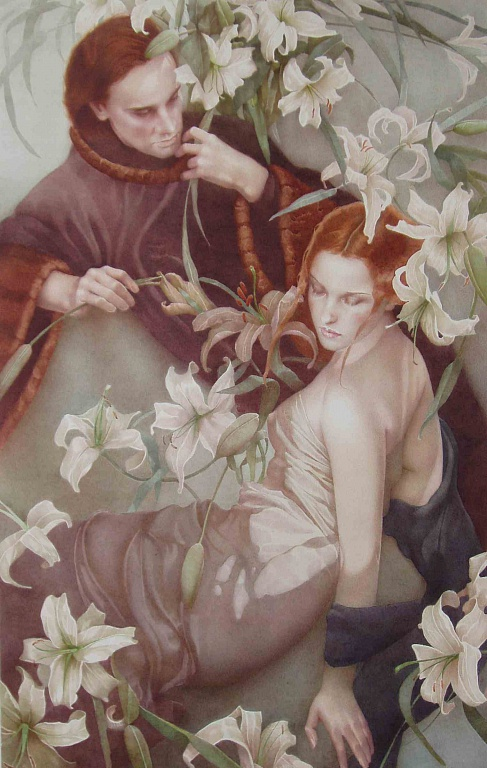 lilii-akvarel