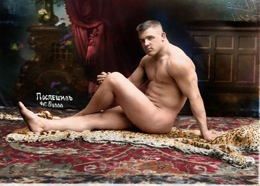russkiy-borec-karl-pospeshil-1912