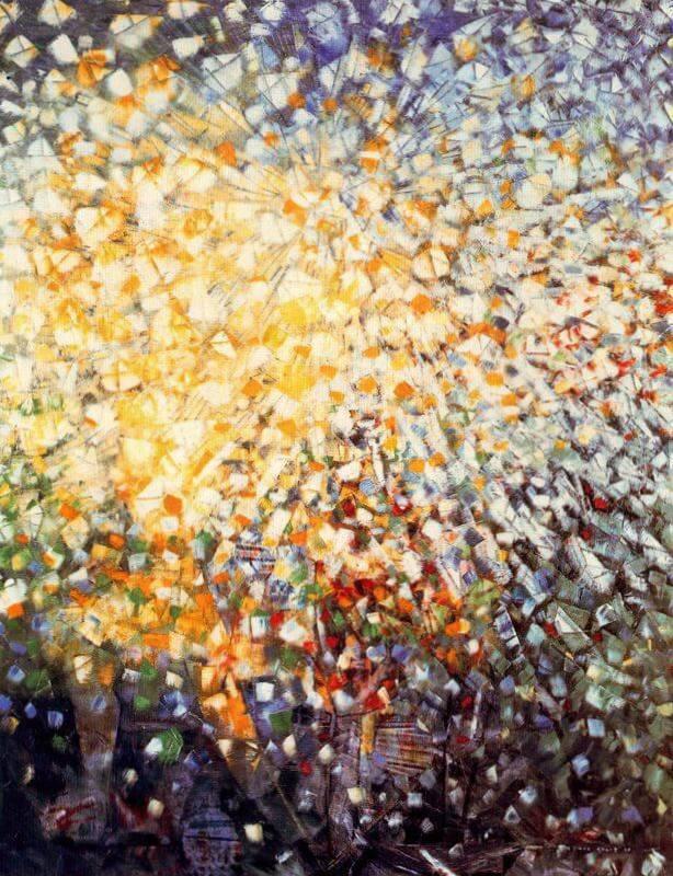 33 Маленькие девочки в погоне за бабочками - Макс Эрнст · 1958