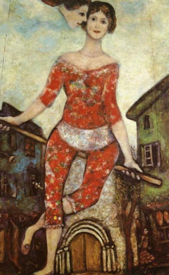 Акробатка, 1914