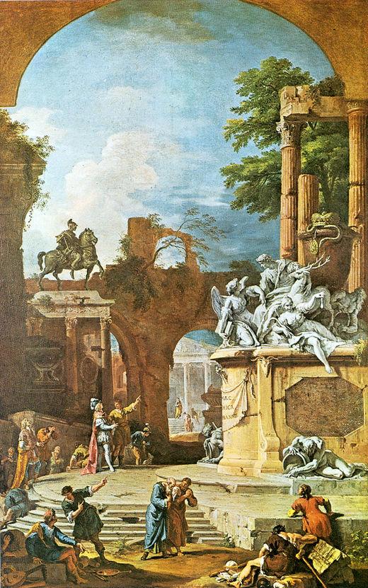 Аллегорическая гробница герцога Девонширского (1725)
