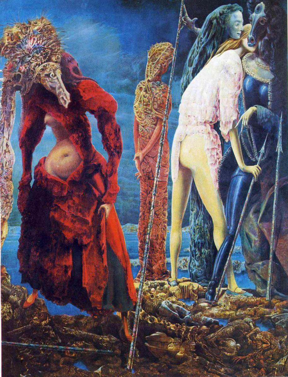 Antipope - Макс Эрнст · 1942