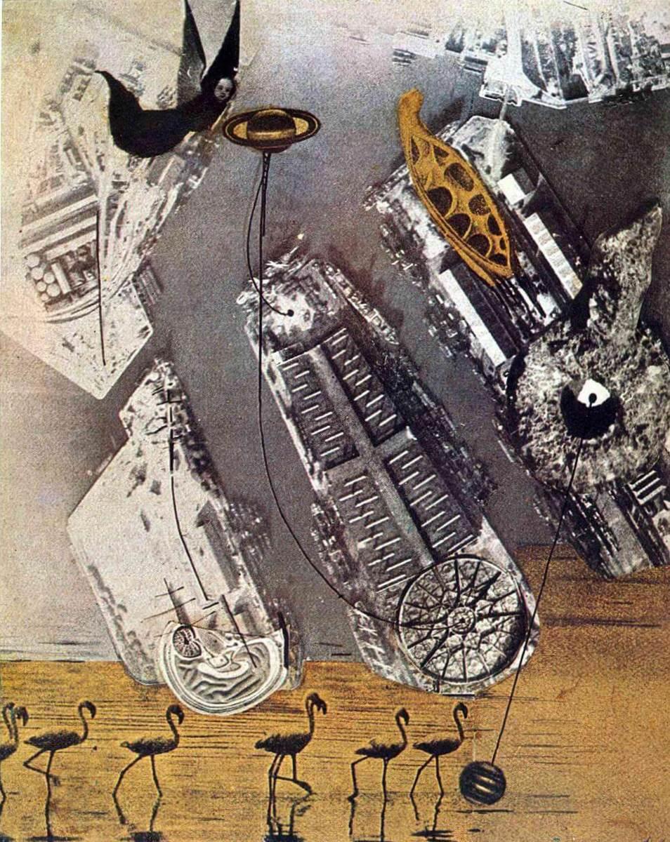 Бакланы - Макс Эрнст (1920)