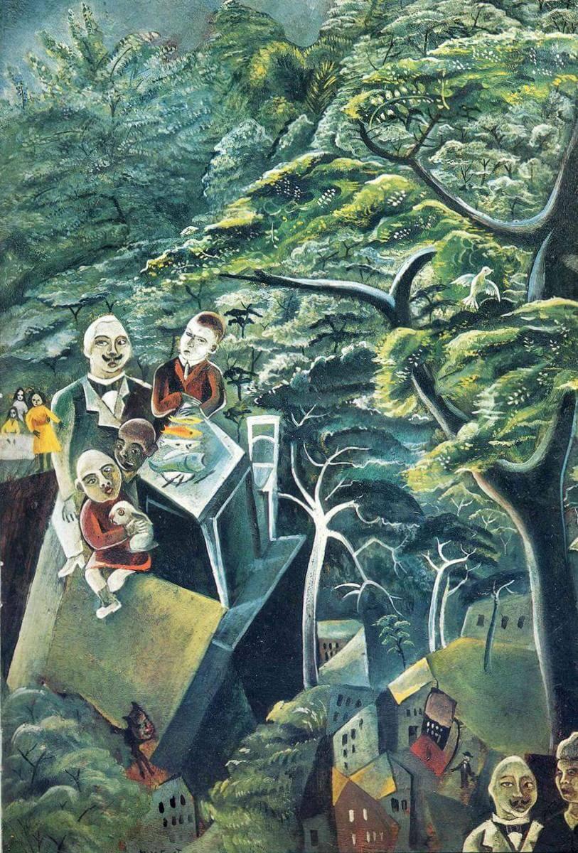 Бессмертие - Макс Эрнст (1913)