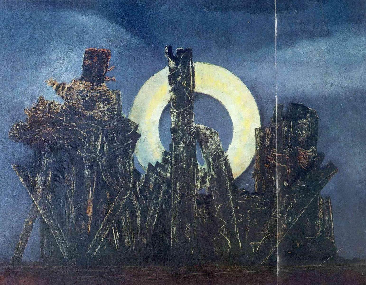 Большой лес - Макс Эрнст (1925)