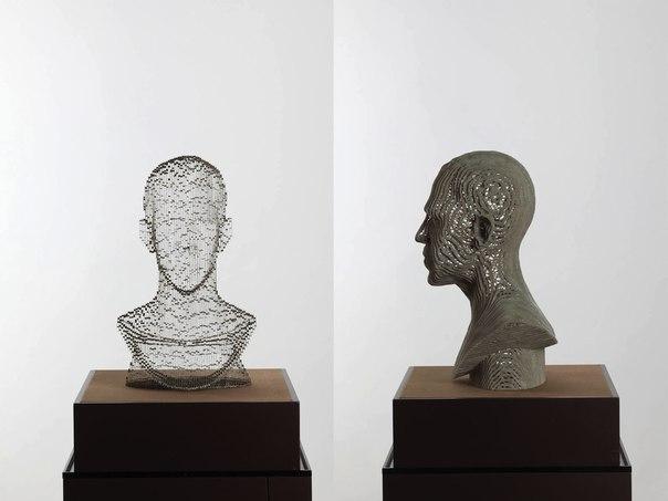Бумажные скульптуры исчезающие в пространстве художника Хо Юн Шин