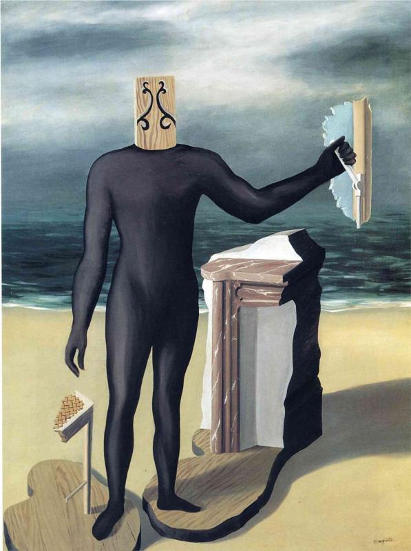 Человек в море , 1927