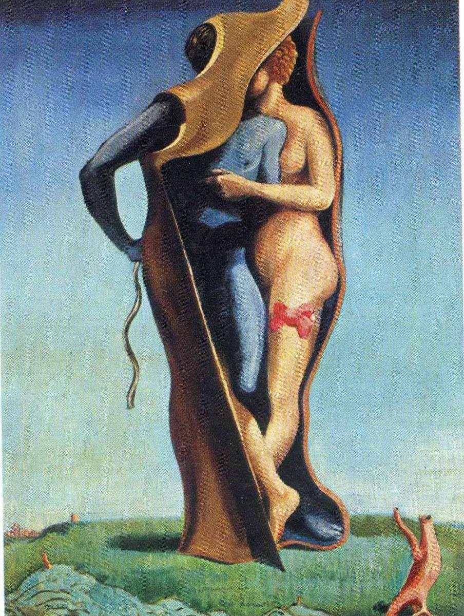 Да здравствует любовь - Макс Эрнст (1923)