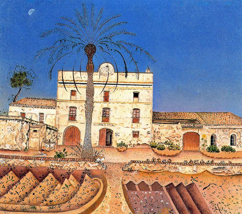 Дом с пальмой , 1918